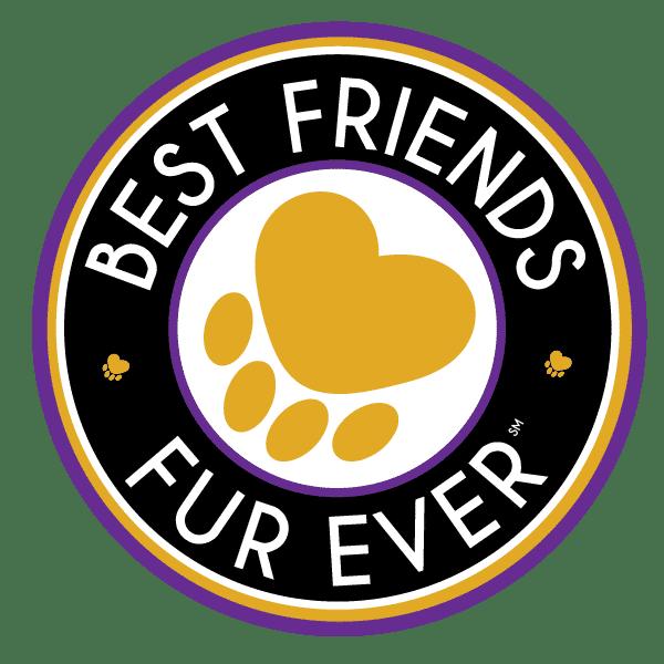 Best Friends Fur Ever Logo